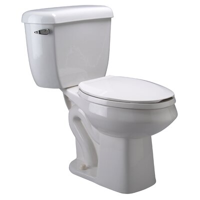 Pressure Assist 1.6 GPF Elongated Two-Piece Toilet