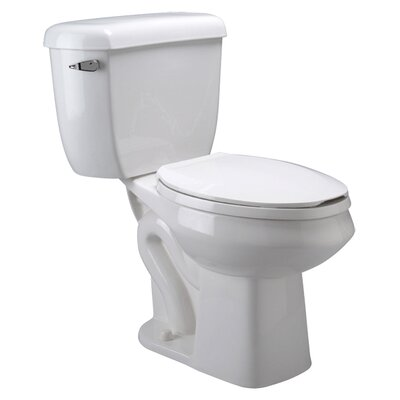Pressure Assist Dual Flush GPF Elongated Two-Piece Toilet