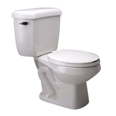Front Pressure Assist 1.6 GPF Round Two-Piece Toilet