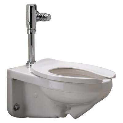 Wall Mounted 1.28 GPF Elongated One-Piece Toilet