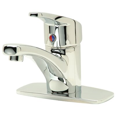 AquaSpec Single Handle Single Hole Bathroom Faucet