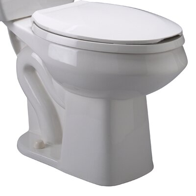 Pressure Assist 1.6 GPF Elongated Toilet Bowl