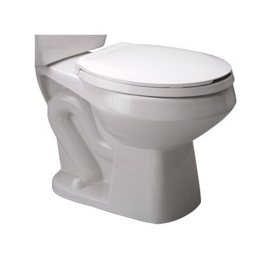 Front Pressure Assist 1.6 GPF Round Toilet Bowl