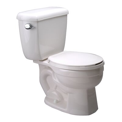 High Performance 1.6 GPF Round 2 Piece Toilet Z5553