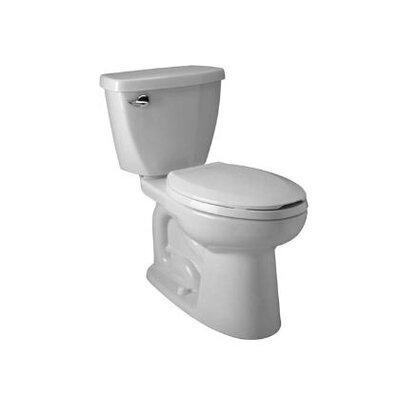 Ecovantage Siphon Jet 1.28 GPF Elongated Two-Piece Toilet
