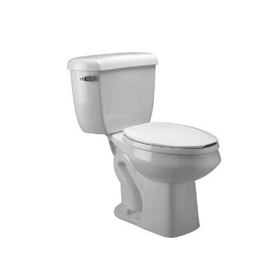 Pressure Assist Dual Flush Round Two-Piece Toilet