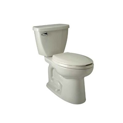 Siphon Jet 1.6 GPF Elongated Two-Piece Toilet