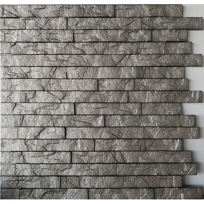 Ahner 24 x 24 Stone Tile in Sparkled Grey/Portland Cement Color: Sparkled Grey