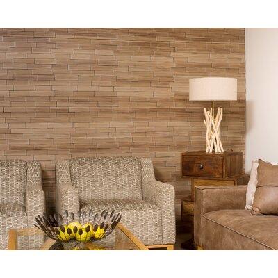 Anouk 24 L x 24 W Brick Tile in Dark Okasha/Amati Color: Amati
