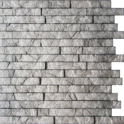 Ahner 24 x 24 Stone Tile in Sparkled Grey/Portland Cement Color: Portland Cement