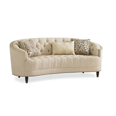 Frederic Tufted Curved Sofa