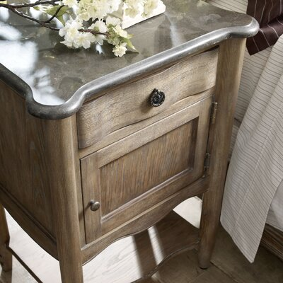 Morrisville 1 Drawer Nightstand