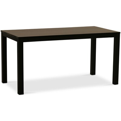 Sierra Parsons Dining Table Top Color: Onyx Maple