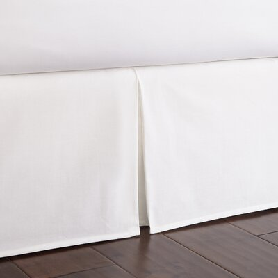 Gibsonia Bed Skirt Size: King, Drop Height: 18