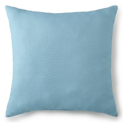Jerin 100% Cotton Throw Pillow Color: Aqua, Size: 20 x 20