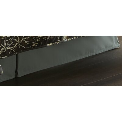 Shipman Bed Skirt Size: King, Drop Height: 18