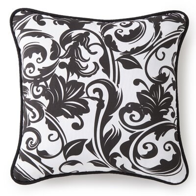 Lyonsdale Damask Cotton Throw pillow