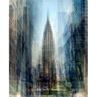 'Chrysler Building' Graphic Art Print on Wrapped Canvas