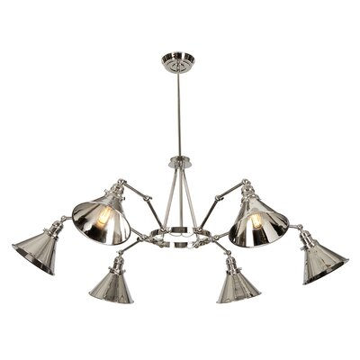 Gaynelle 6-Light Sputnik Chandelier