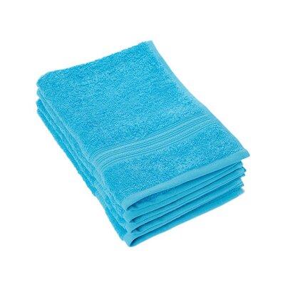 Peabody Cotton Hand Towel Set Color: Squba Blue