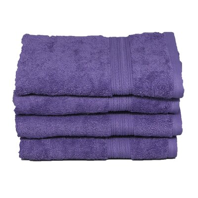 Peabody Cotton Hand Towel Set Color: Lavender