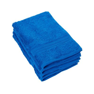 Peabody Cotton Hand Towel Set Color: Classic / Royal Blue