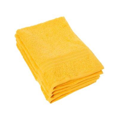 Peabody Cotton Hand Towel Set Color: Golden Yellow