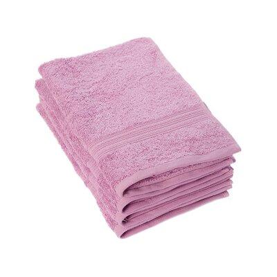 Peabody Cotton Hand Towel Set Color: Mulberry Purple