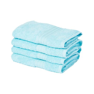 Peabody Hand Towel Set Color: Light Turquoise