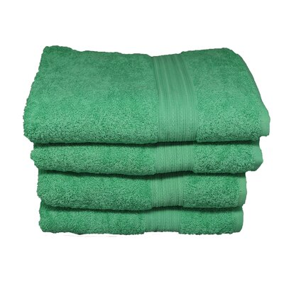 Peabody Hand Towel Set Color: Island Green