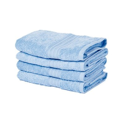 Peabody Hand Towel Set Color: Light Blue