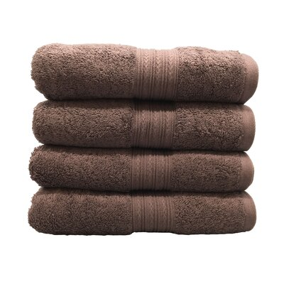 Peabody Hand Towel Set Color: Dark Brown