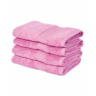 Peabody Hand Towel Set Color: Mulberry