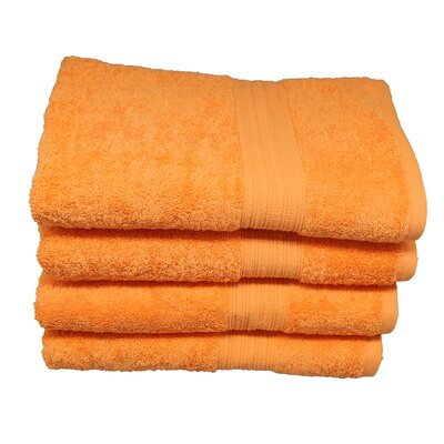Peabody Hand Towel Set Color: Orange