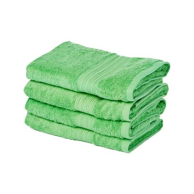 Peabody Hand Towel Set Color: Poison Green