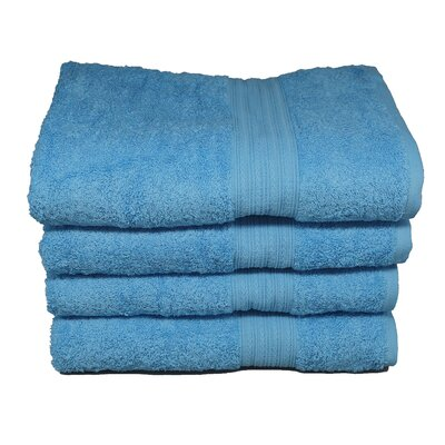 Peabody Hand Towel Set Color: Squba Blue