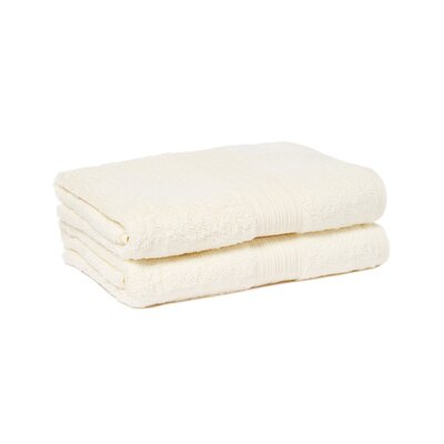 Tori Bath Towels Set Color: Vanilla Beige