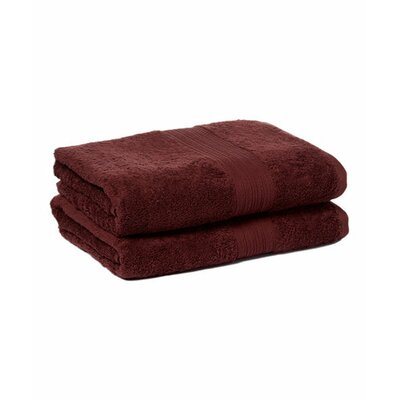 Tori Bath Towels Set Color: Dark Brown