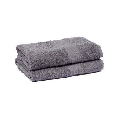 Peabody Bath Towel Set Color: Gray