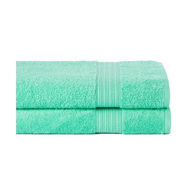 Peabody Bath Towel Set Color: Island Green