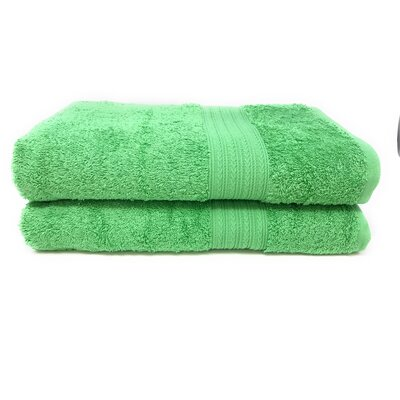 Peabody Bath Towel Set Color: Light Green