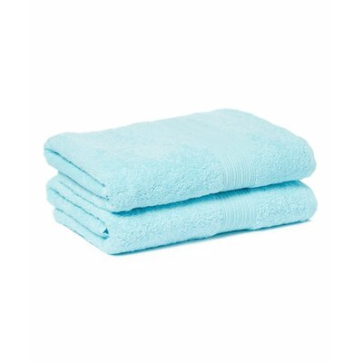 Tori Bath Towels Set Color: Light Turquoise