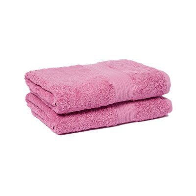 Peabody Bath Towel Set Color: Mulberry Purple
