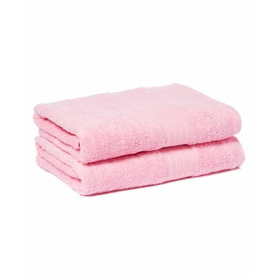Tori Bath Towels Set Color: Pink Lady