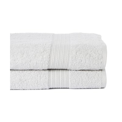 Peabody Bath Towel Set Color: Silver