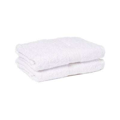 Peabody Bath Towel Set Color: White