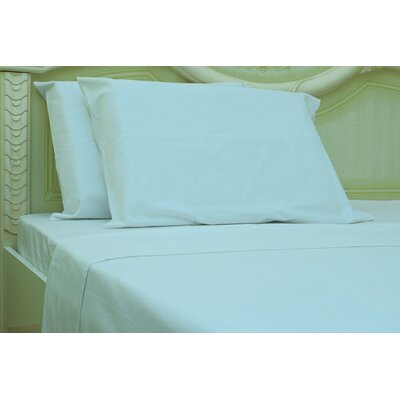 Islas 190 Thread Count 100% Cotton Sheet Set Color: White