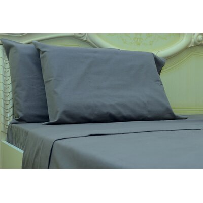 Islas 190 Thread Count 100% Cotton Sheet Set Color: Gray