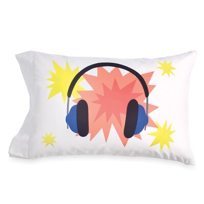 Howes Headphones Std Pillow Case