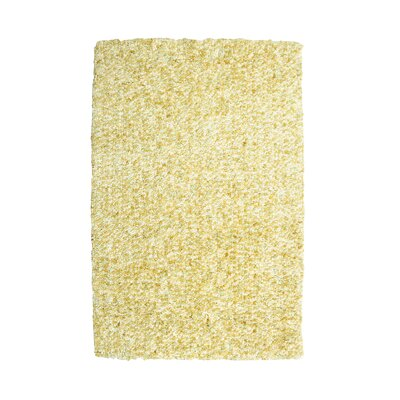 Bombay Luxe Shag Popcorn Hand-Tufted Beige Area Rug Rug Size: 2 x 3